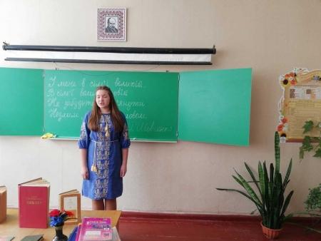 Шевченківські дні в школі